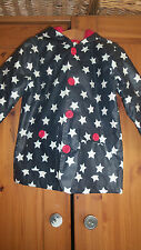 Albetta Boys Navy Blue Star Print Rain Coat Jacket 1-2 Years BNWT!!