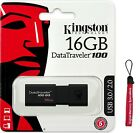 Kingston 16GB DataTraveler 100 G3 16G USB 3.0 Flash Pen Drive DT100G3/16GB +Lany