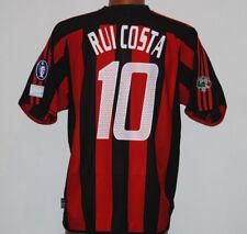 maglia milan Rui Costa adidas INTER-MILAN player issue fondazione milan 0304