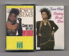 JOYCE SIMS - Lot of 2 SEALED Cassettes : Come into my life & Looking for a love