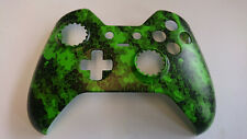 "Custom Xbox One Elite Controller ""Defected Green"" Front Shell (Matte Finish)"