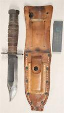 027 - Vietnam era Camillus Survival Knife w/sheath (3-1967)