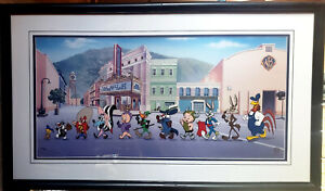 """""""Looney Tunes on Parade"""" - Large Format Limited Edition Cel  (42"""" x 24"""") 504/750"""