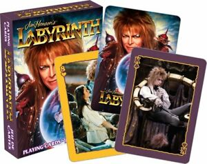 Jim Henson's Labyrinth (David Bowie) set of 52 playing cards  (+ jokers) (nm)