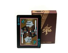 Fable OFFICIAL Edition Playing cards by Lotrek, Rare, Limited Only 450