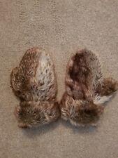 Ladies Fur Gloves size s-m