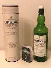 LAPHROAIG Islay Single Malt Scotch Whisky PX CASC Old Empty Bottle 1000ml -1 L