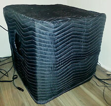 MACKIE SRM1850 SRM 1850 Padded Premium Black Covers (2)  Quantity of 1 = 1 Pair!