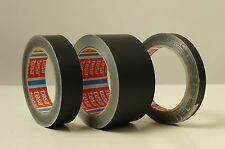 Tesa Tape 50577 Matt Black Foil tape 50mm wide x 25 metres long roll