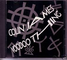COLIN JAMES Voodoo Thing 88 RADIO PROMO CD Single w/BIO