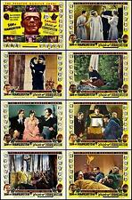 BRIDE/SON OF FRANKENSTEIN COMBO Complete Set Of 8 Individual 8x10 LC Prints 1953
