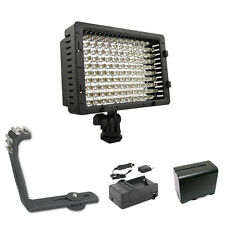 Pro XB-12 LED on camera video light F970 for Sony VX2000 VX2100 PD150 PD170 cam