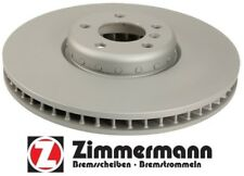 BMW F01 F02 F06 Front Passenger Vented Disc Brake Rotor Zimmermann 150 2915 20