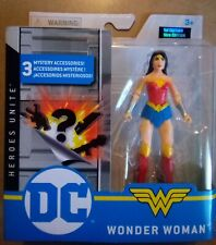 "Spin Master Dc Heroes Unite: Wonder Woman (Brand New 4"" action figure) superhero"