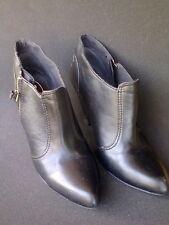 EDC ESPRIT Boots Stiefel Stiefeletten, Booties Reißverschluss schwarz - Gr. 38