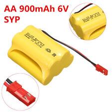 Ni-Cd AA 900mAh 6V Combinaison Batterie SYP JST Rechargeable Led Solaire Lumière