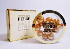 Rare and Vintage GIANFRANCOFERRE BATH LINE Perfumed Bath Pearls 15x2ml 1oz