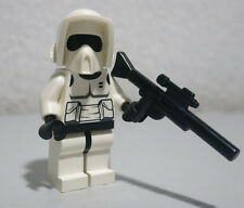 Scout Trooper Black Head Star Wars 7956 8038 LEGO Minifigure Mini Figure fig