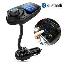 T10 LCD Bluetooth Car Kit Auto MP3 FM Transmitter Freisprechanlage USB Ladegerät