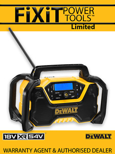 DeWalt DCR029 12/18v Li-ion XR Radio with DAB & Bluetooth RW