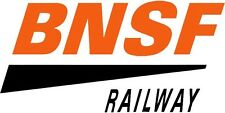 NEW PEEL AND STICK BNSF RAILWAY DECAL 1 X 2.5