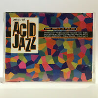 Various - Best Of Acid Jazz - 1996 VG 2x Cassettes - Global Television - RADMC35