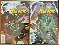 Convergence: Shadow of the Bat #'s 1 & 2  - DC 2015 - 1st Prints NM (C853)