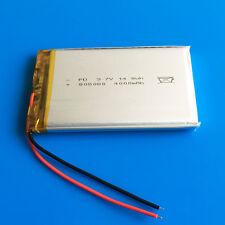 3.7V 4000mAh Li Po Battery Cells For Mobile Phone PC DVD Power Bank PAD 805080