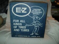 Vintage E-Z Tire Repair Cabinet  See Pics