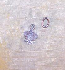 VINTAGE Kappa Kappa Gamma sorority small crest pendant, sterling unused NOS OLD