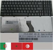 CLAVIER QWERTY ARABE LENOVO U550 U550-AR 25-009407 V-109820AS1 Noir