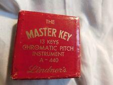 Vintage The Master Key Chromatic Pitch Instrument Kratt Co 13 Keys A-440