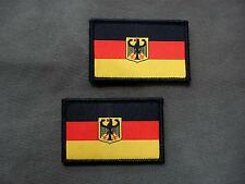 Set of 2 Germany Flag woven patches