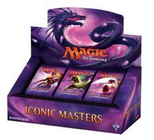 MAGIC MTG ICONIC MASTERS 1//4 BOOSTER BOX = 6 PACKS SEALED