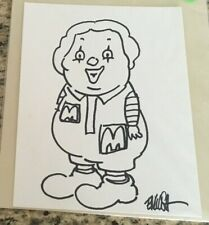 Ron English , Sketch Drawing Signed