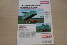 158848) ginocchio tre pagine Kipper TDK 180 prospetto 199?