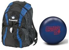 14lb Brunswick Magnitude 035 Solid Reactive Bowling Ball & Brunswick Back Pack