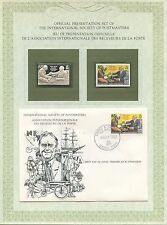 FIRST DAY OF ISSUE / 1° JOUR / STAMP / TIMBRE ARGENT ISLANDS FRANKLIN ROOSEVELT