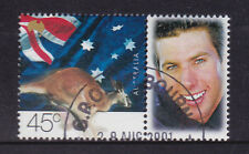 2001 Goodwill Games - CTO 45c Stamp Grant Hackett