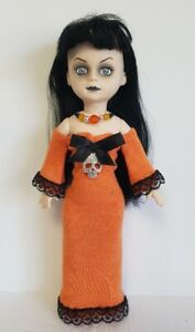 Living Dead Doll Clothes HALLOWEEN GOWN & NECKLACE goth HM Fashion NO DOLL d4e