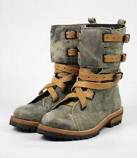 BERNHARD WILLHELM X CAMPER TOGETHER AW 2009 runway grey ski leather boots