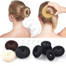 Women Hair Bun Ring Donut Shaper Hair Styler Maker 3 Colors 5 Sizes Wholesale
