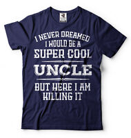 Gift For Uncle Funny Gift T-shirt For Brother Super Cool Uncle T-shirt Uncle Tee