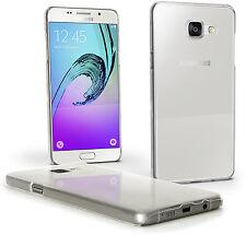 Claro Funda Carcasa Plástico para Samsung Galaxy A5 SM-A510 Cover Prot Pantalla