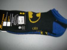 DC Comics Batman 2 pack  Socks sz 10-13 shoe sz 6-12 New