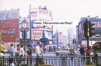 100 Rare Vintage London UK Paris Europe Lot of Original Photos from Slides on CD