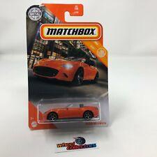 Mazda MX-5 Miata #35 * ORANGE * 2020 Matchbox Case X