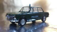 * Brekina 33080 BMW 1602 Polizei (Police) 2 door Vehicle 1:87 HO Scale
