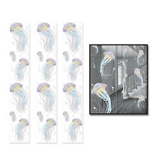 UNDER THE SEA JELLYFISH HANGING PARTY PANEL DECORATIONS SET 3