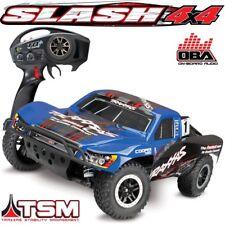 Traxxas 68086-24 Slash 4x4 RTR RC Truck BLUE BODY w/On-Board Audio OBA & Low-CG